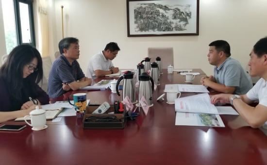 市领导带队赴国家文物局汇报南昌汉代海昏侯国遗址公园建设等相关工作
